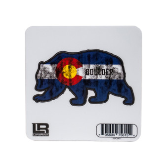 PSTKR-DC0471: CO Flag Big Bear Sticker
