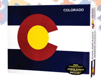 08S63410- Colorado Flag Puzzle