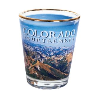 SG40166: Colorado 14ers Shot Glass