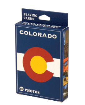 PLY308-Colorado Flag Playing Cards