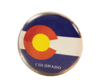 SGM63410-Flag Snow Globe Magnet