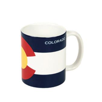 MUG63410: Colorado Flag 11oz Mug