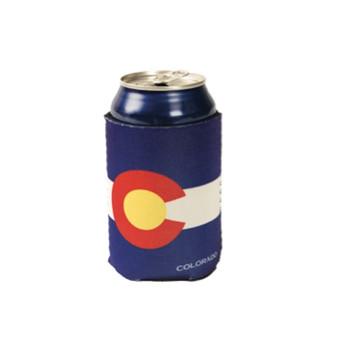CCOL63410-Colorado Flag Can Cooler
