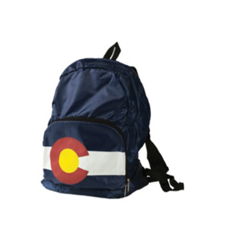 CBP63410-Colorado Flag Compact Backpack