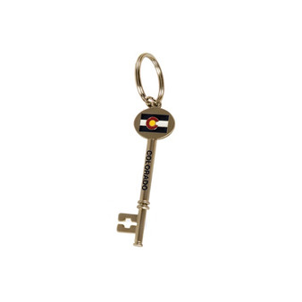 KEY63410: CO Key Keychain