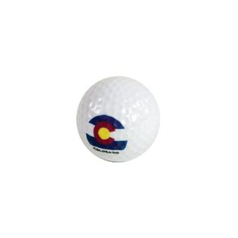 GB79054-Colorado Flag Golf Ball
