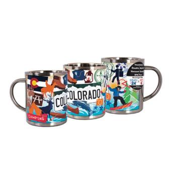 SIMUG79194-Colorado Pop Art Insulated Mug