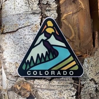 Colo Triangle Sticker