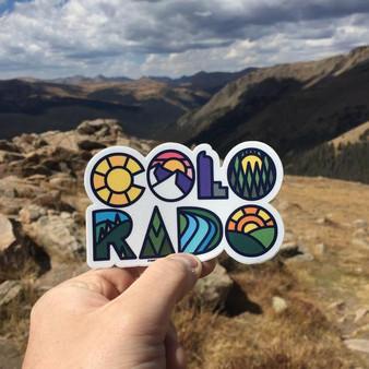 Colorado Name Sticker