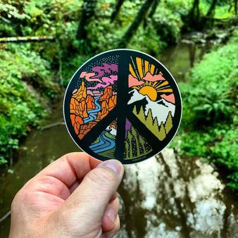 Circle of Peace Sticker