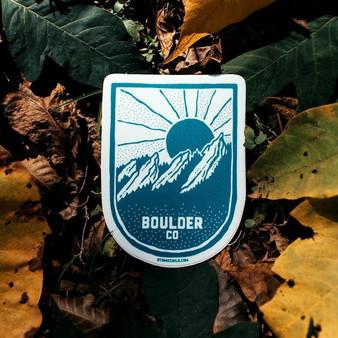 Boulder CO Sticker