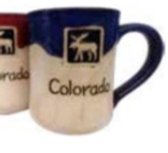 MUGS019: Stoneware Moose Mug