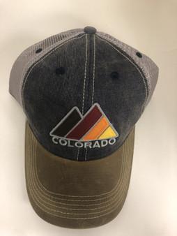 Waxed Cotton Peak Hat