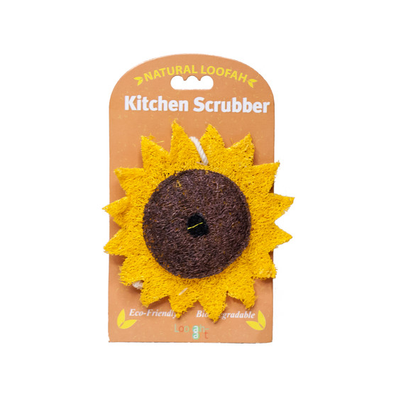 Sunflower Loofah