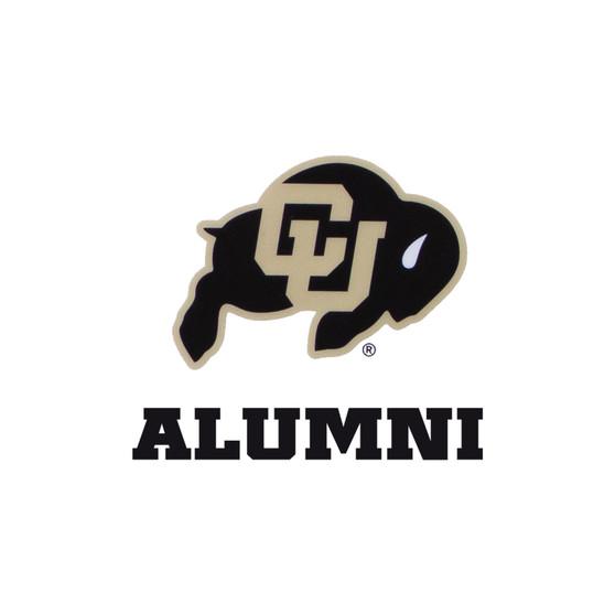 "95666017: CU Alumni Multi-Use Decal 3"" x 4"""