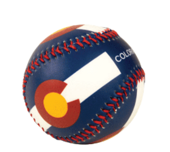 BBM63410-Colorado Flag Baseball