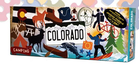 49S79194-Colorado Pop Art 1000 Pc Puzzle