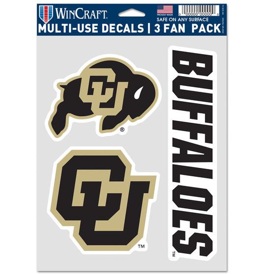 3 Fan Pack Decal