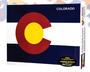 08S63410- Colorado Flag Puzzle