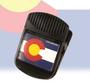BCM63410-Colorado Flag Big Clip Magnet