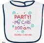 Party My Crib Bib