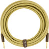 Fender 0990820089 Deluxe Series Instrument Cable, Straight/Straight, 10', Tweed