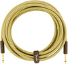 Fender 0990820084 Deluxe Series Instrument Cable, Straight/Straight, 15', Tweed