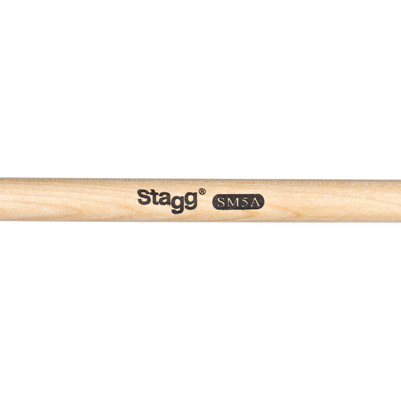 Stagg Sm5a 1 Pair Maple Drum Sticks Wood Tip 5a Murphy S Music