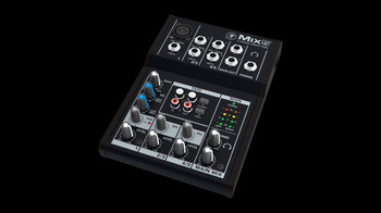 Mackie Mix5 5-Channel Compact Mixer 120V US