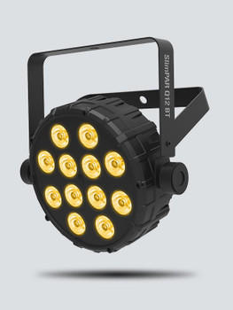 Chauvet SLIMPARQ12BT SlimPar Q12BT Compact Wash Light w/ Bluetooth