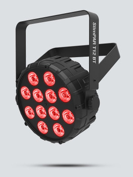 Chauvet SlimPar T12BT Compact Wash LED (RGB) PAR w/ Bluetooth