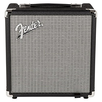 Fender 2370100000 Rumble 15 (V3), 120V, Black/Silver