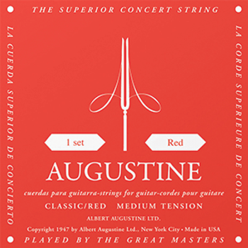 Augustine Classic Red Medium Tension Classical Guitar Strings