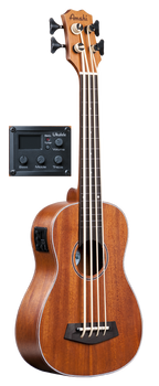 "Amahi UK222B-EQ 30"" Ukulele Bass with EQ Mahogany Top, Back & Sides"