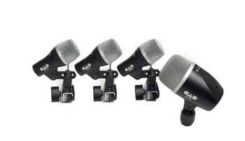 CAD Stage4 4-piece Drum Microphone Pack