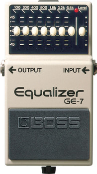 Boss GE-7 7Band EQ Graphic Equalizer Pedal