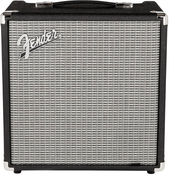 Fender 2370200000 Rumble 25 (V3), 120V, Black/Silver
