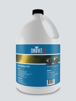 Chauvet QDF Quick Dissipating Water-based Fog Fluid, 1 Gallon