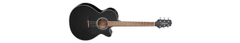 Takamine GF30CE BLK FXC Grand Concert Acoustic Electric, Black