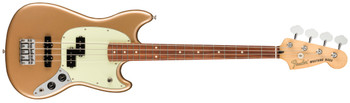 Fender 0144053553 Player Mustang® Bass PJ, Pau Ferro Fingerboard, Firemist Gold