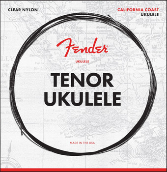 Fender 0730090404 Tenor Ukulele Strings, Set of Four