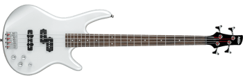 Ibanez GSR200PW Gio 4-String Electric Bass, Pearl White