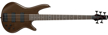 Ibanez GSR205BWNF 5-String Electric Bass Guitar, Walnut Flat