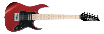 Ibanez GRGM21MCA Mikro Electric Guitar, Candy Apple Red