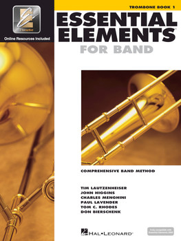 Essential Elements for Band, Trombone Book 1 w/EEI