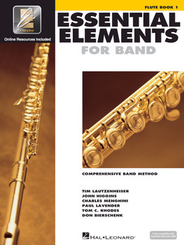 Essential Elements for Band, Flute Book 1 w/EEI