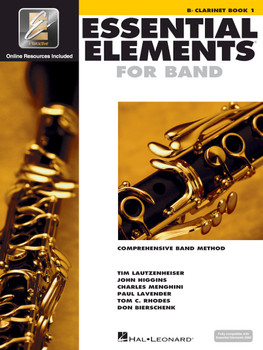 Essential Elements for Band, Bb Clarinet Book 1 w/EEI
