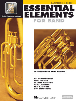 Essential Elements for Band, Baritone B.C. Book 1 w/EEI