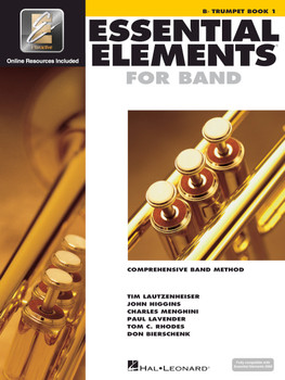 Essential Elements for Band, Bb Trumpet Book 1 w/EEI