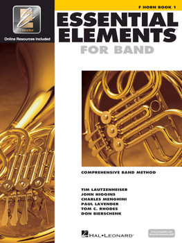 Essential Elements for Band, F Horn Book 1 w/EEI